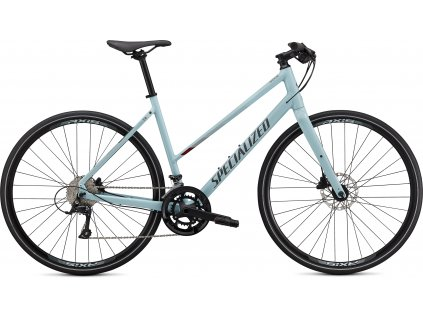 SPECIALIZED Sirrus 3.0 Step Through Gloss Summer Blue/Metallic Crimson/Black Reflective, vel. XS