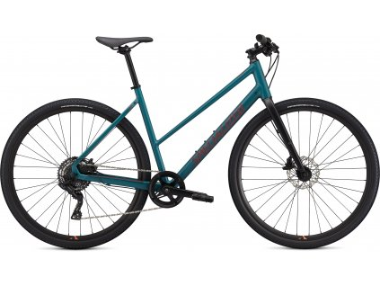 SPECIALIZED Sirrus X 2.0 Step Through Dusty Turquoise/Rocket Red/Black Reflective, vel. M