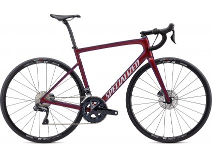 SPECIALIZED Tarmac Disc Comp Ultegra Di2 Gloss Cast Berry/Metallic Crimson/Dove Grey, vel. 56 cm