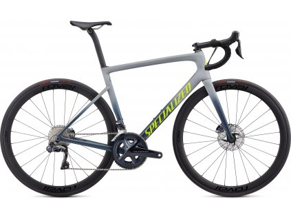 SPECIALIZED Tarmac Disc Expert Satin Cool Grey/Cast Battleship/Team Yellow, vel. 44 cm