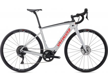 SPECIALIZED Turbo Creo SL Comp Carbon Gloss Dove Gray/Gold Ghost Pearl/Rocket Red, vel. S