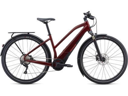 SPECIALIZED Turbo Vado 4.0 Step-Through Metallic Crimson/Black/Rocket Red, vel. S