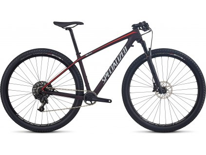 SPECIALIZED Women's Epic HT Expert Carbon World Cup Red Flake Tint Carbon/Nordic Red/Baby, vel. L