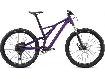 SPECIALIZED Women's Stumpjumper ST Alloy 27.5 Satin Gloss/Plum Purple/Acid Lava, vel. XS