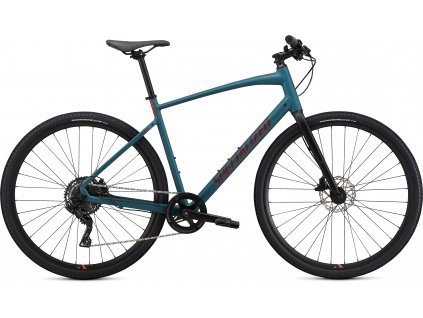 SPECIALIZED Sirrus X 2.0, Dusty Turquoise/Black/Rocket Red, vel. XXS