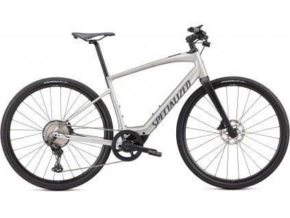 SPECIALIZED Turbo Vado SL 5.0, Brushed Aluminum/Black Reflective, vel. S