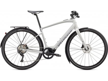 SPECIALIZED Turbo Vado SL 4.0 EQ, Dove Gray/Acid Lava/Cast Black Reflective, vel. XL