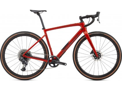 SPECIALIZED Diverge Pro Carbon, Gloss Redwood/Smoke/Chrome/Clean, vel. 49 cm