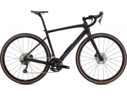 SPECIALIZED Diverge Comp Carbon, Satin Carbon/Smoke/Chrome/Clean, vel. 49 cm