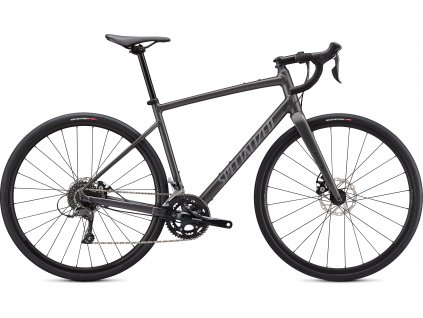 SPECIALIZED Diverge Base E5, Satin Smoke/Cool Grey/Chrome/Clean, vel. 52 cm