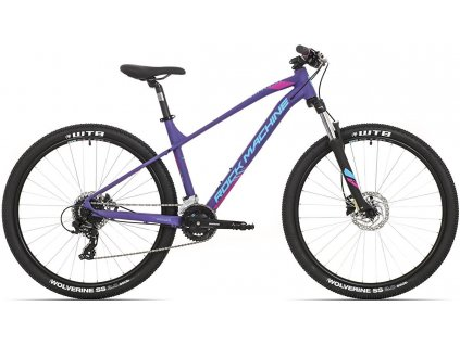 ROCK MACHINE Catherine 70-27 mat violet/neon cyan/purple, vel. L