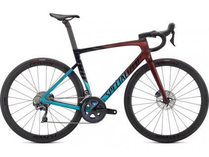 SPECIALIZED Tarmac SL7 Expert Ultra Turquoise/Red Gold Pearl/Black, vel. 54 cm