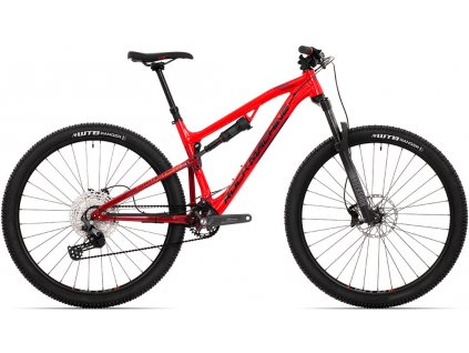 ROCK MACHINE Blizzard XCM 30-29 gloss red/crimson/black, vel. M