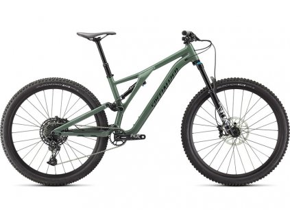 SPECIALIZED Stumpjumper Comp Alloy Gloss Sage Green/Forest Green, vel. S6