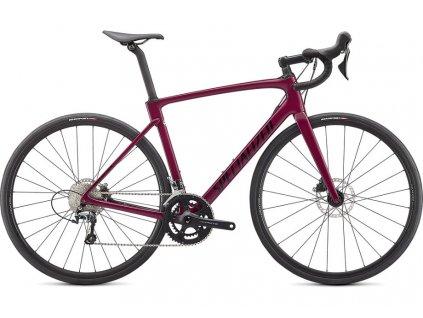 SPECIALIZED Roubaix Gloss Raspberry/Tarmac Black, vel. 49 cm