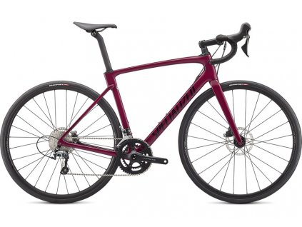 SPECIALIZED Roubaix Gloss Raspberry/Tarmac Black, vel. 54 cm