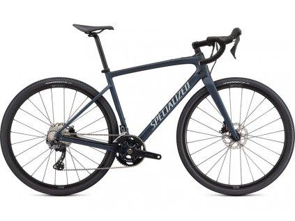 SPECIALIZED Diverge Sport Carbon Satin Cast Blue Metallic/Ice Blue/Chrome/Clean, vel. 56 c  PŘEDOBJEDNÁVKA