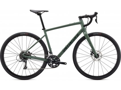 SPECIALIZED Diverge Base E5 Gloss Sage Green/Forest Green/Chrome/Clean, vel. 58 cm  PŘEDOBJEDNÁVKA