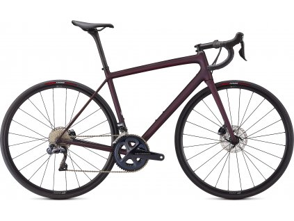 SPECIALIZED Aethos Expert Satin Red Tint/Dream Silver, vel. 61 cm  PŘEDOBJEDNÁVKA