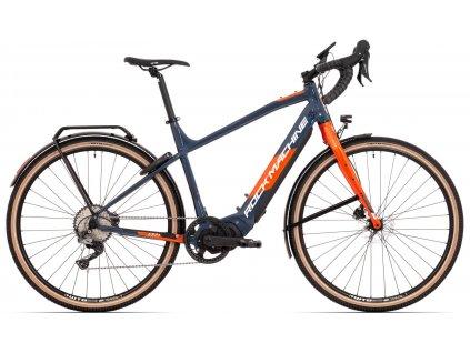 ROCK MACHINE GravelRide INT e500 touring modrá/oranžová, vel. L  Dostupnost jaro 2022
