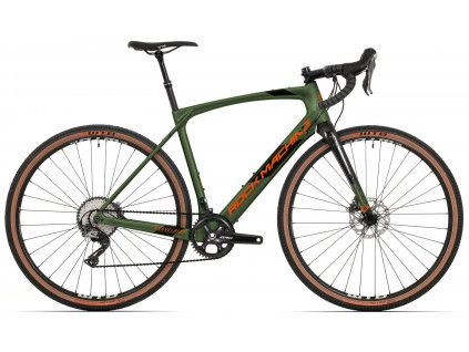 ROCK MACHINE GravelRide CRB 900 khaki/oranžová, vel. L  Dostupnost jaro 2022