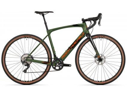 ROCK MACHINE GravelRide CRB 900 khaki/oranžová, vel. XL  Dostupnost jaro 2022