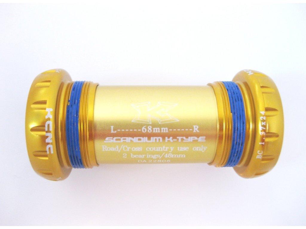 KCNC XC STŘEDOVÁ OSA K-TYPE (Barva zlatá)