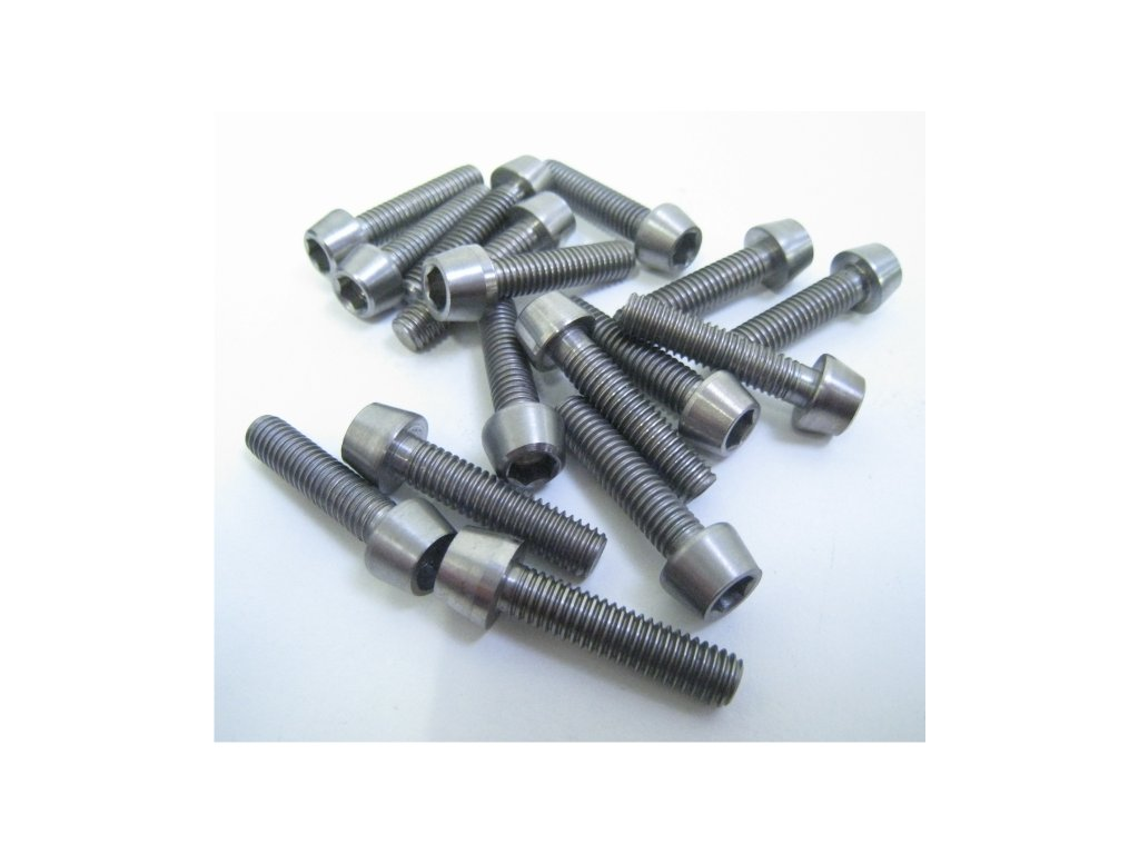 1121 kcnc titanium bolts m5 8mm