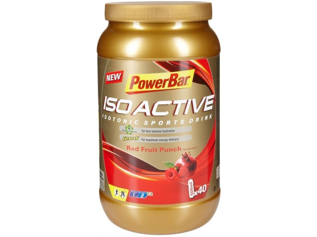 POWER BAR ISOACTIVE SPORT DRINK 1320G (Barva citron)