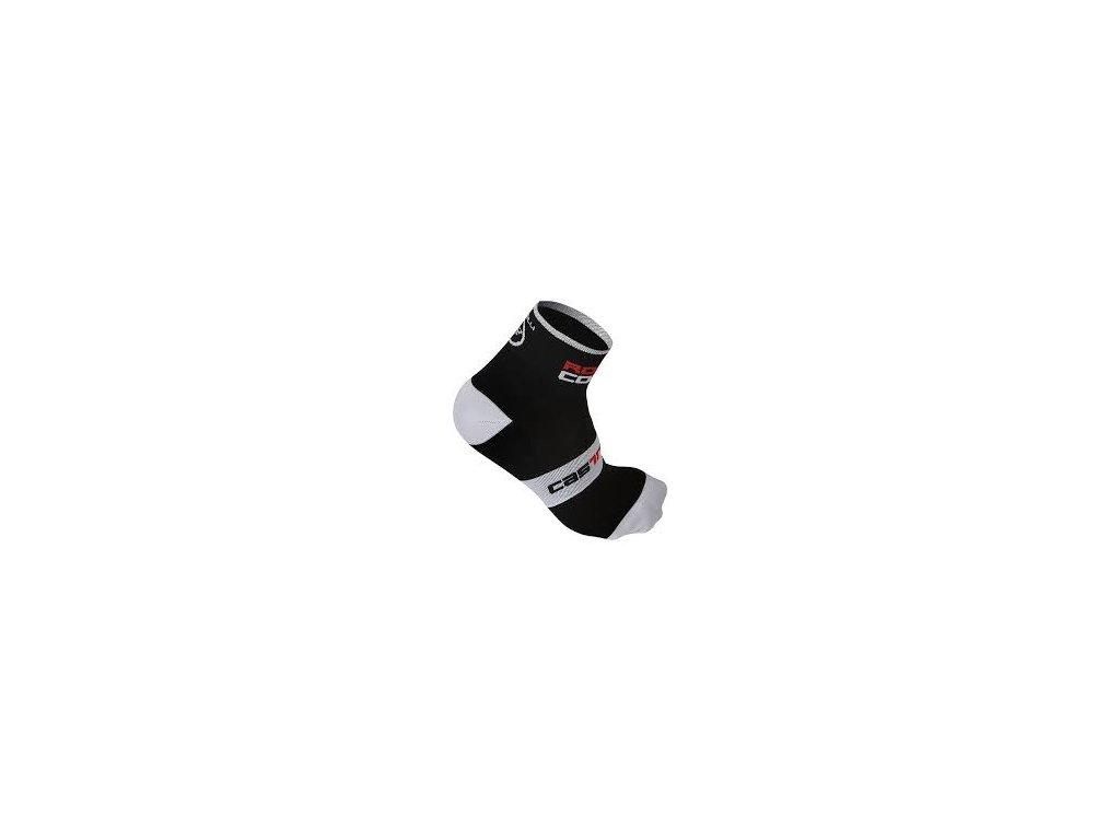CASTELLI ROSSO CORSA 9 PONOŽKY (Barva bílá, Velikost L/XL)