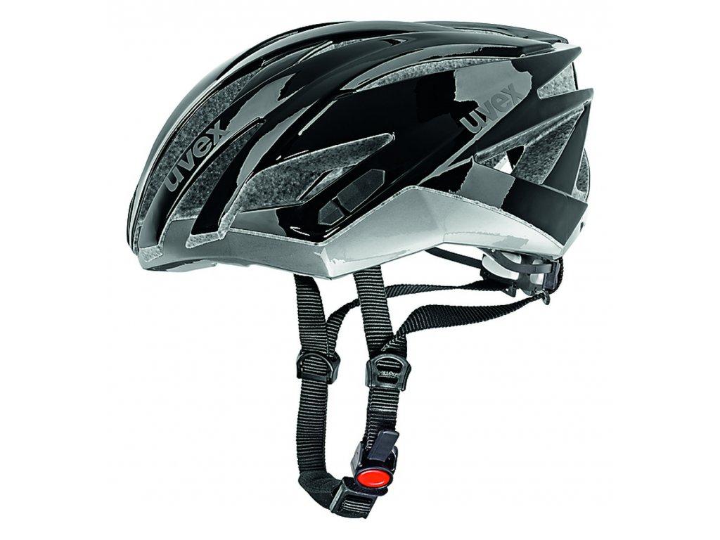 UVEX ULTRASONIC RACE 2013 (Barva černá/stříbrná, Velikost 58-62)