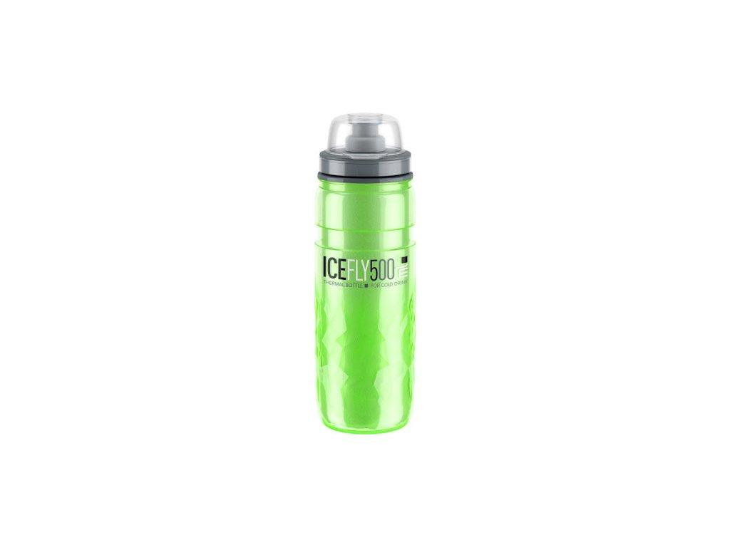 ELITE termoláhev ICE FLY, zelená 500 ml