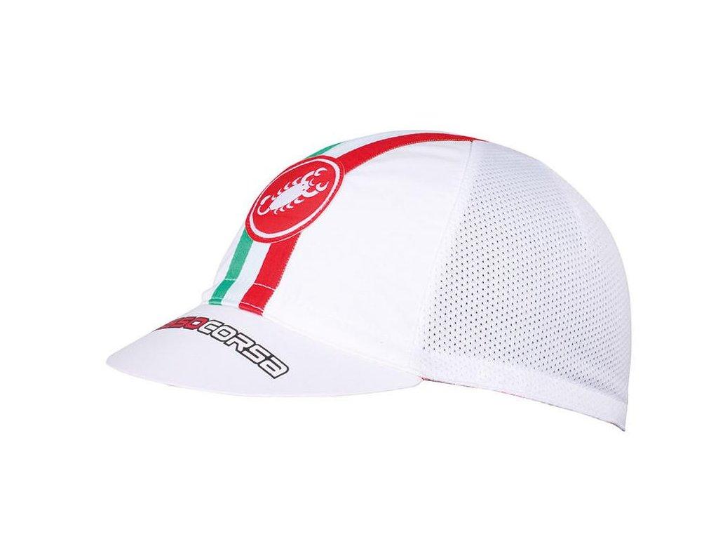 CASTELLI PERFORMANCE ČEPICE (Barva bílá)