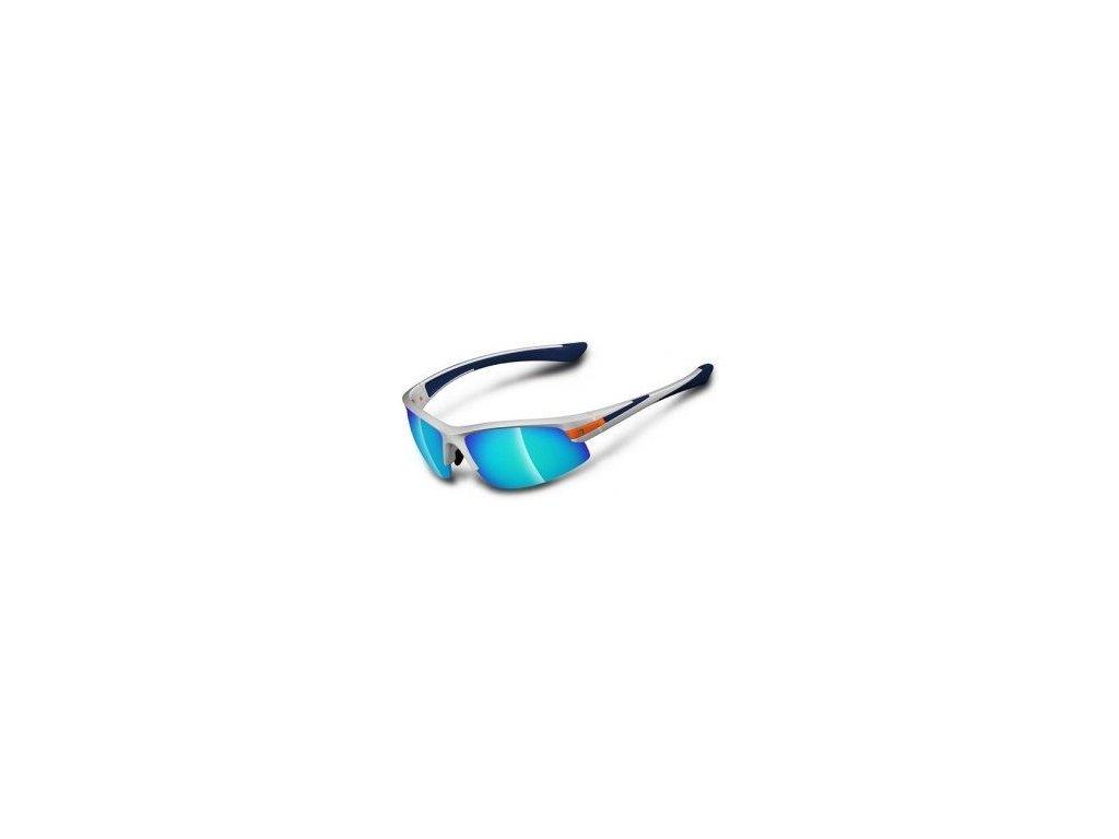 BRIKO DARWIN (Barva stříbrná matná/modrá)
