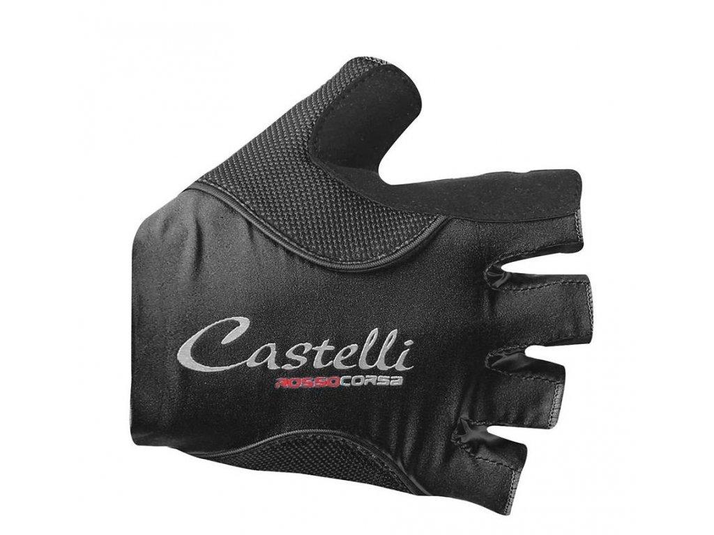 CASTELLI ROSSO CORSA PAVE W RUKAVICE (Barva černá, Velikost S)