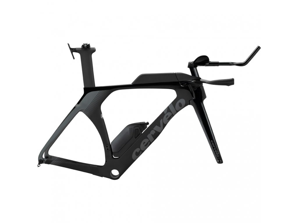 Cervelo P5 Disc TT Triathlon Frameset 2020 Black Graphite
