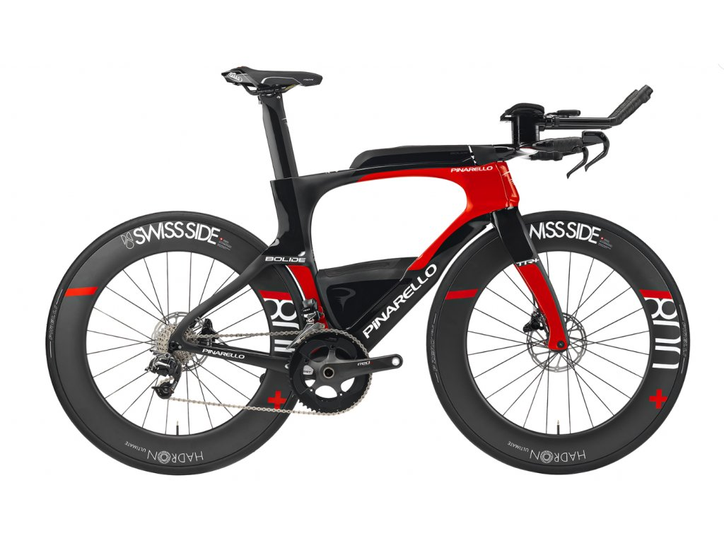 PINARELLO BOLIDE TR+ DURA ACE DI2 2020 (Barva Carbon Red 829, Velikost 450mm)