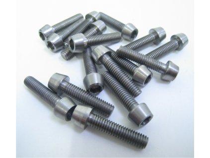 1121 kcnc titanium bolts m5 8mm