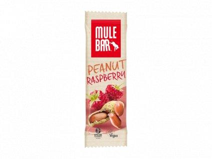 vegan energy bar 40g peanut raspberry 1