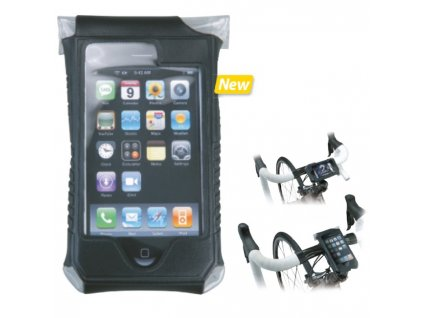 TOPEAK SMARTPHONE DRY BAG PRO IPHONE 4 (Barva černá)