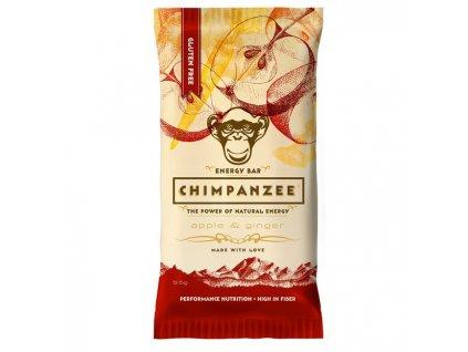 CHIMPANZEE ENERGY BAR (Barva Jablko/zázvor, Velikost 55g)