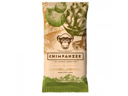 CHIMPANZEE ENERGY BAR (Barva Rozinky/ořechy, Velikost 55g)