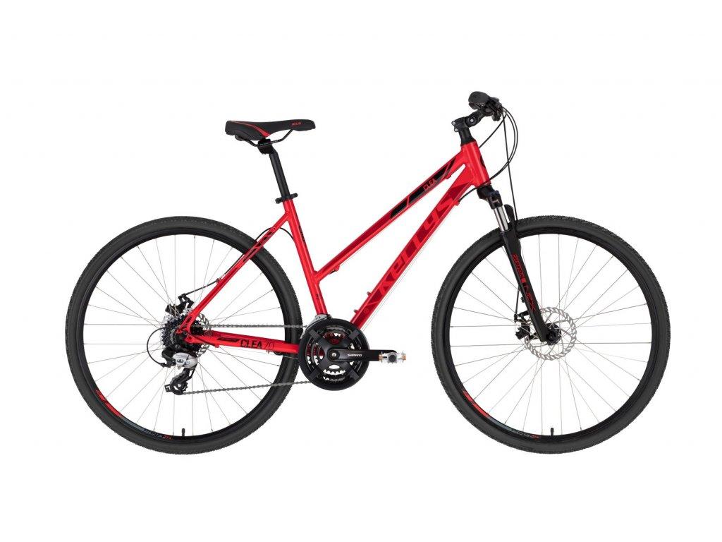 KELLYS Clea 70 Red (Barva red, Velikost S)