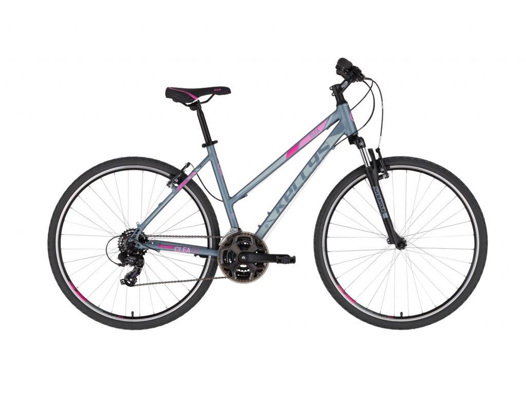 KELLYS Clea 10 Grey Pink (Barva pink, Velikost S)
