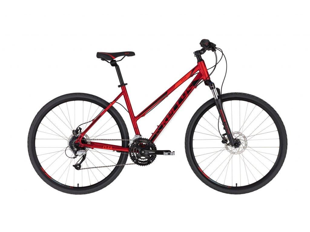 KELLYS Clea 90 Dark Red (Barva red, Velikost S)