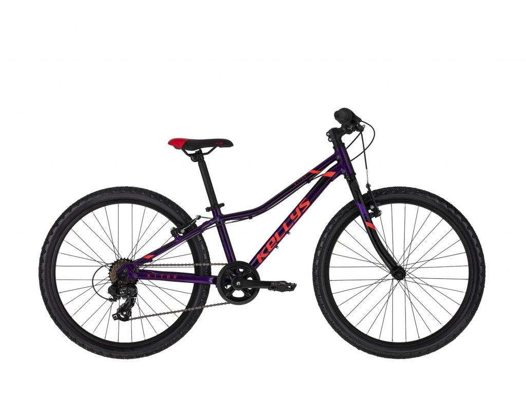 """KELLYS Kiter 30 Purple 11 24"""" (Barva purple, Velikost 11"""")"""