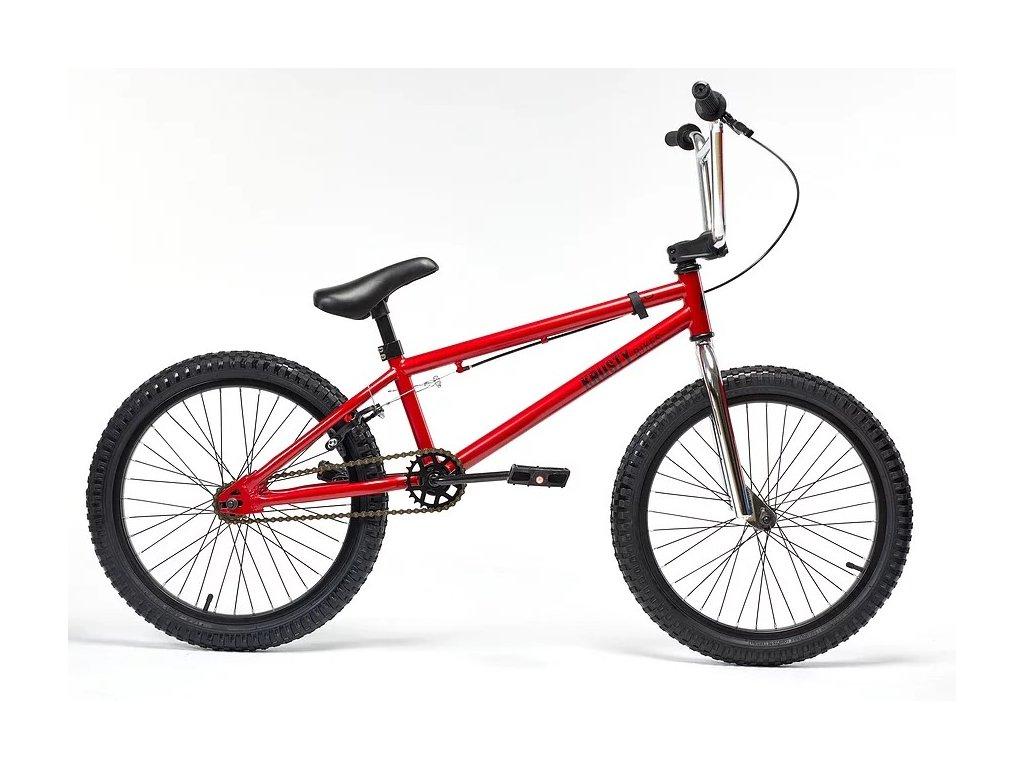 bmx kolo krusty bikes 33 0 cervena
