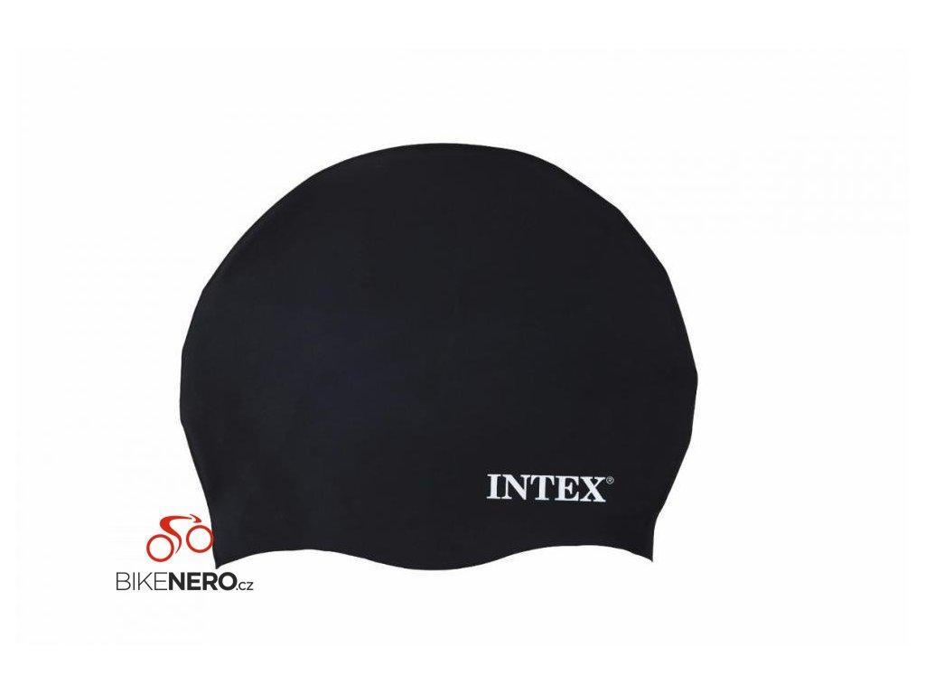 Koupací čepice Intex Silicon černá