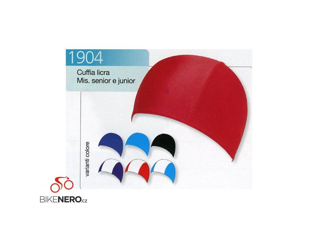 Koupací čepice LYCRA JR 1904 červená