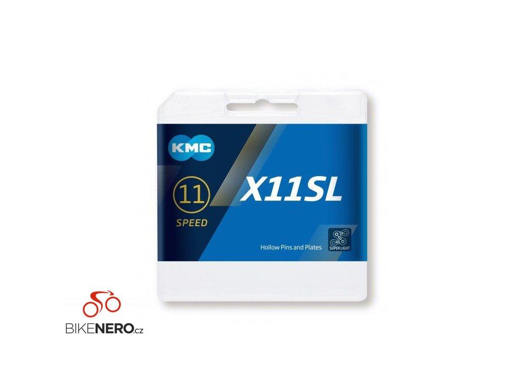 ŘETĚZ KMC X11 SL ČERNO/ZLATÝ BOX